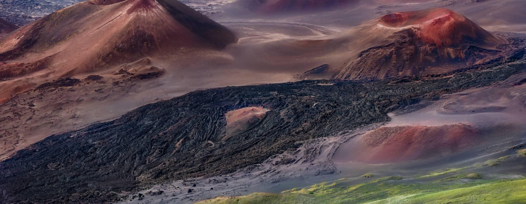 Maui Hawaii Haleakala Crater