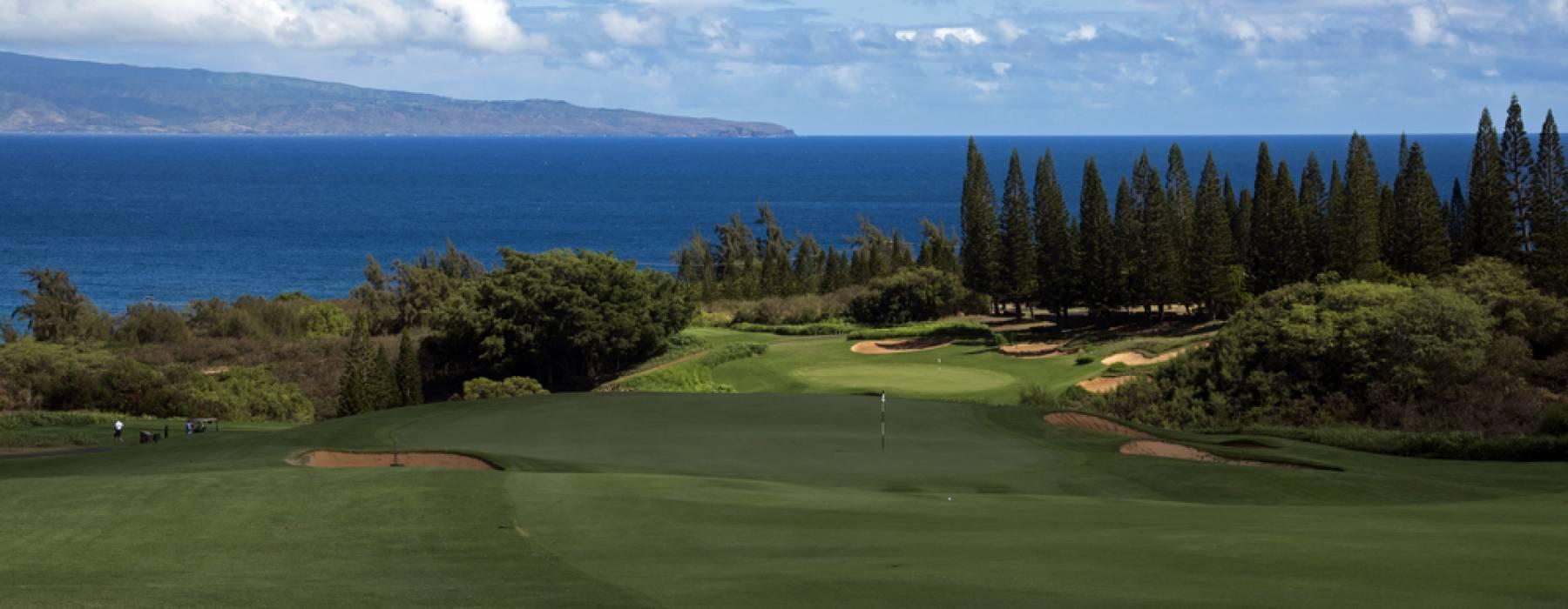 Kapalua Golf Course on Maui Hawaii