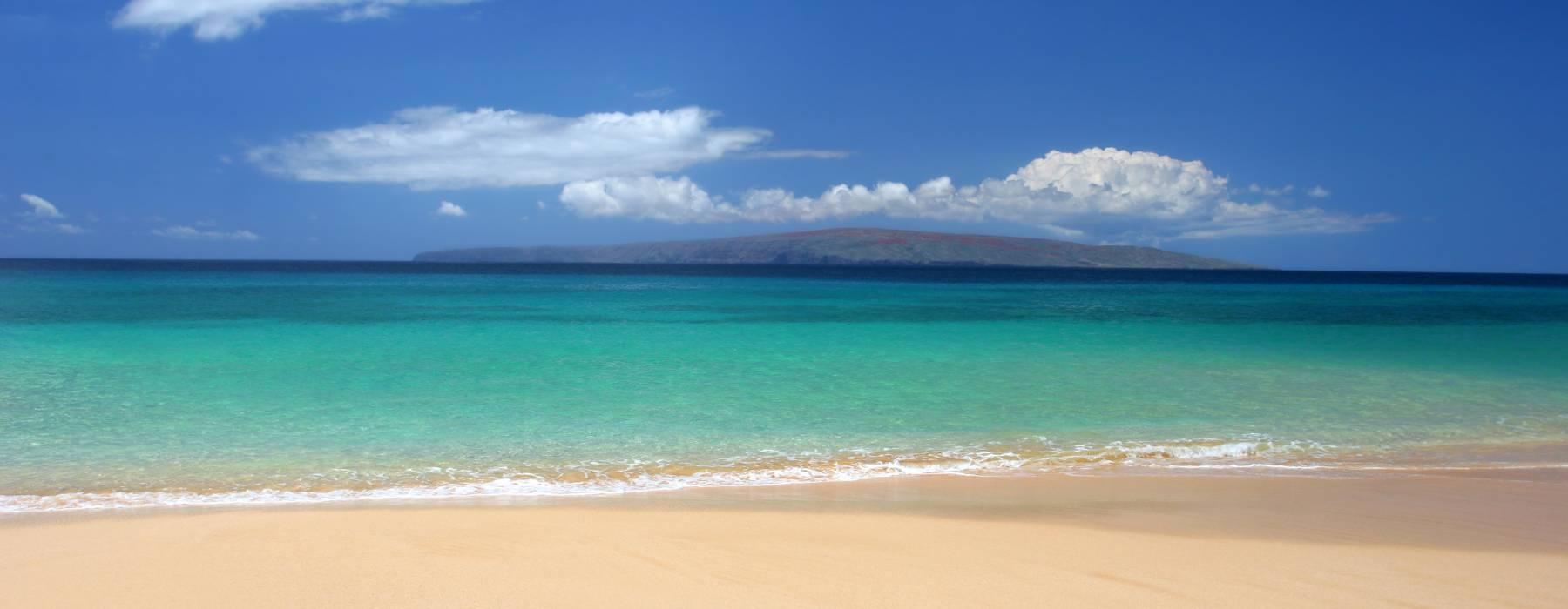 White Sand Beach on Maui Hawaii