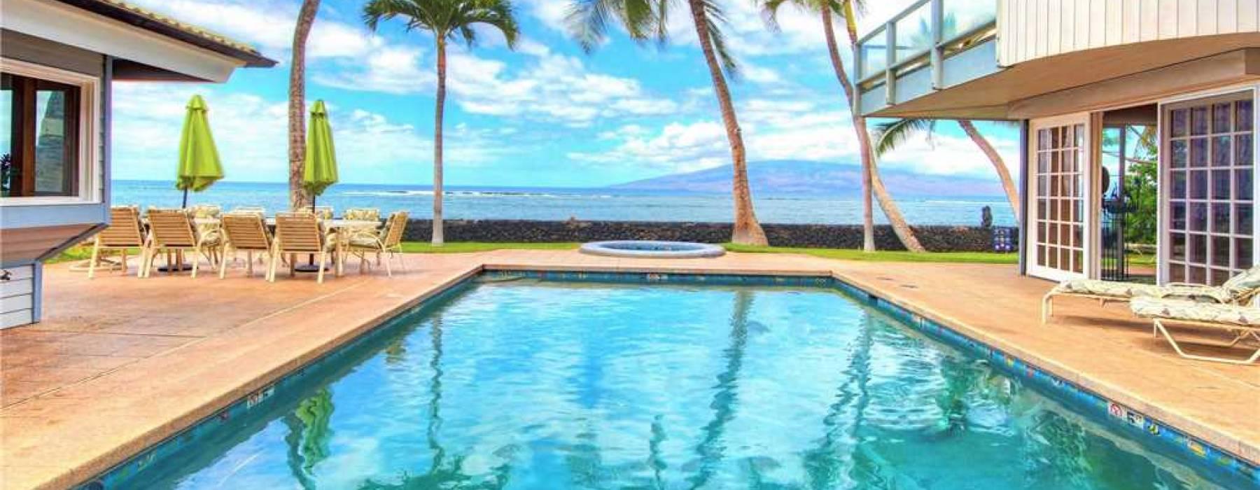 Lahaina Oceanfront Estates Ocean View Pool