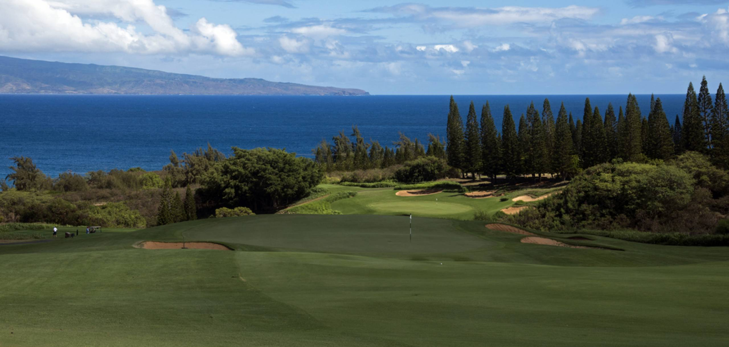 Kapalua Golf Course on Maui Hawaii
