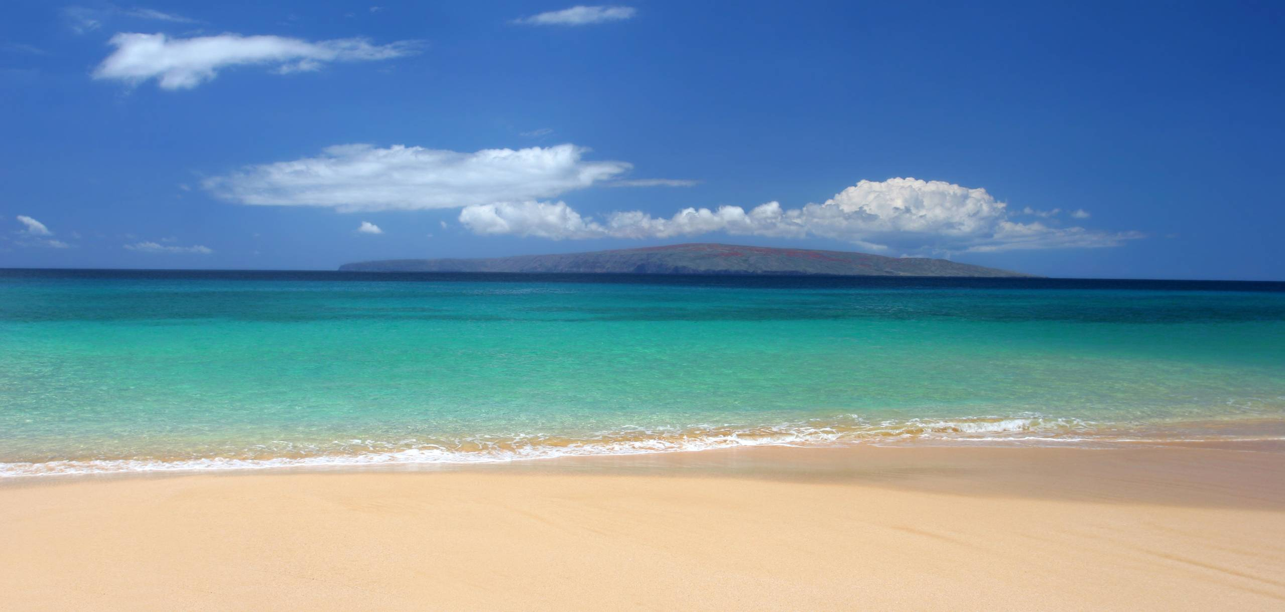 White Sand Beach on Maui Hawaii
