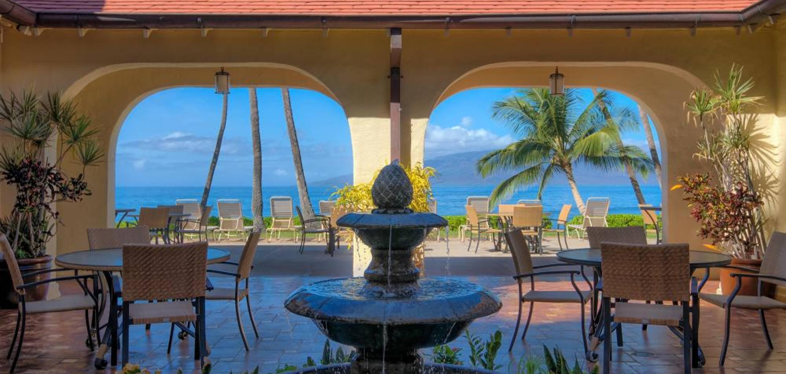 Puamana Maui Oceanfront Gazebo